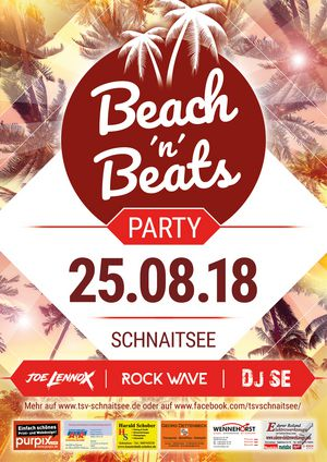 ★ Beach'n'Beats Party - Schnaitsee ★