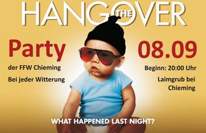 +++Hangover-Party Chieming+++
