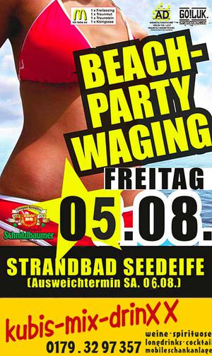 Beachparty Waging 2016